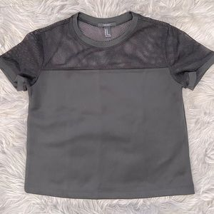 Forever 21 - Fishnet Jersey Tee - Size M
